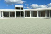 Casa Mediterránea 1 piso - 2015 / Diseño Casa condominio Las Mercedes, Machalí 168 m2 - Metalcon