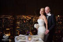 Signature Room Hancock Tower Wedding Photos