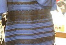 El vestido de la duda / El fenómeno viral generado por una cuestión: ¿Negro-Azul o Blanco-Dorado?