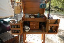 Camp kitchen - historical