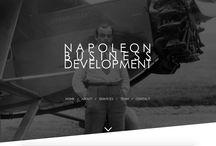 Sites internet / Napoleon Business Development c'est aussi de la création de sites internet!