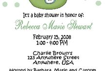 Baby Shower Ideas / Carries Kiddie Closet's ideas for a baby shower, including favors and invitations...