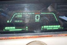 Retro Car Dashboards