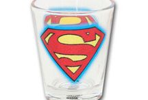 Superhero Glassware / Check out our collection of licensed superhero glassware / by SimplySuperheroes.com