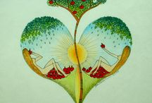 """HeART for YOU / Jsou to moje originální """"SRDEČNÍ ZÁLEŽITOSTI""""....které vznikají podle nálady daného okamžiku.... a s láskou"""