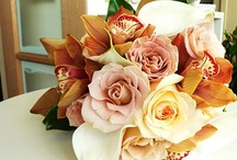 Brown and creams Bouquet's / Wedding bouquets in creams and browns shades.
