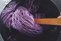 Le Mouton Vert / Natural dyes wool