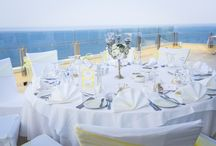 Yellow weddings and receptions / all things yellow - the sun, lemons, the sand and golden wedding rings