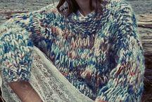 Melerad modern strikk