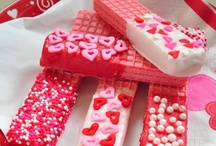 Valentine Day snacks and crafts