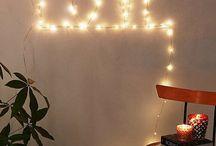 Pontos de luz na casa