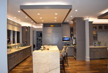 Kitchens / Elegance meets innovation when it comes to kitchen designs. Thanks to Scott Carpenter in Charlotte, NC.