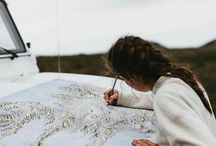She Explores. / Finding your adventure, exploring the world, breathing fresh air and being outdoors. What more do you need?