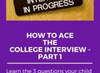 Strategic Admissions Advice for High School Students and Their Parents