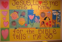 Church: SS room murals / by Reynie Banks