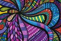 ColorIt Wild Doodle Submissions / Enjoy our creative doodle coloring pages from our Wild Doodles  Coloring Book, submitted by none other than our awesome ColorIt fans!
