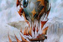 Abstrakte Malerei / #Abstraktes #Abstraktion