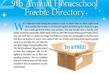2016-9th Annual FREEBIE Directory / by The Old Schoolhouse Magazine