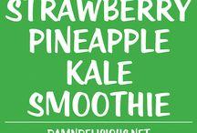 Juice & Smoothies / Lækre opskrifter på juice og smoothies