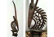 AFRICA / Arte africana - Sculture in legno
