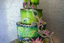 BEAUTIFULLY DECORATED CAKES / by Denise White