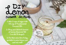 spa homemade scrubs, creams and more...