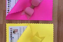 Capas para atividades escolares