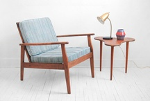 Mid Century Furniture / Mid Century Modern Furniture from the 1950's, 1960's, and early 1970's including chairs, sofas, tables, lamps, bookshelves, rugs and kitchen items that inspire the Mr. California lifestyle.