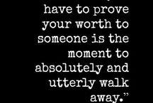 Self-worth quotes