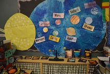Space and Alien Activities / Space and Alien thematic fun for kindergarten math, reading, social studies, art, music, writing, and science.
