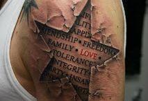 Tattoos, rings