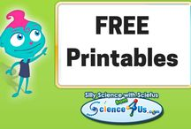 Free Science Resources / S4U offers free science learning printables! / by Science4Us