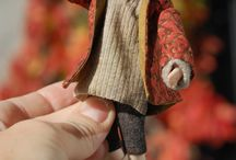 Hermione / 1:12 porcelain doll by Taru Astikainen