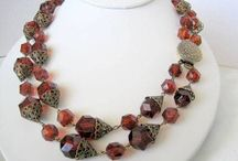 Vintage Necklaces on Etsy/VintagObsessions / An Etsy Shop for Vintage Costume Jewelry