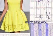 Moldes vestidos