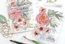 Cards - Wplus9 flowers