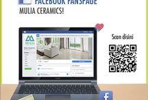Social Media Mulia Ceramics / Temukan beragam informasi menarik serta Produk keramik terupdate dan Event seru persembahn Mulia Ceramics. Join Us Now!