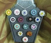 Golf ball marker necklaces