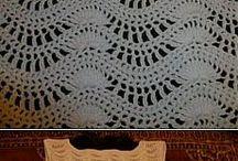 Sukienki szydełkowe / i na drutach