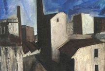 Sironi Mario / Storia dell'arte Pittura  20° sec. Mario Sironi 1885-1961