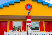 LEGOLAND® Beach Retreat / Set to open mid-2017, this whimsically themed vacation resort will combine the fun of surf, sand and sun with the creativity of LEGO® bricks on a picturesque site next to Lake Dexter, adjacent to the Theme Park.