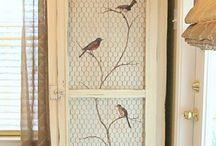 Armario pájaros