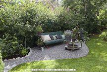 Ute / Utomhus: växter, byggen mm