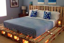 Sofás e camas de pallets