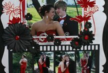 Prom Scrapbook Pages