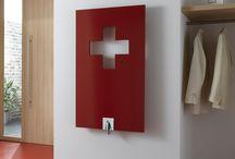 Contemporary Bathroom Radiators / Something special for the bathroom