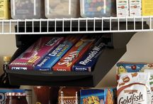 Organization Tools and Tips! / I admit it...I'm an organization freak! An organized pantry is a thing of beauty!