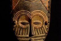 Lele masks, D.R. Congo