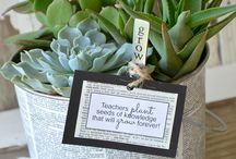 teacher appreciation gift ideas / by Amy Huntley (TheIdeaRoom.net)