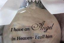 Son memorial ornament